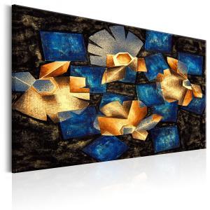 Ljuddämpande tavla - Geometrical Flowers - SilentSwede