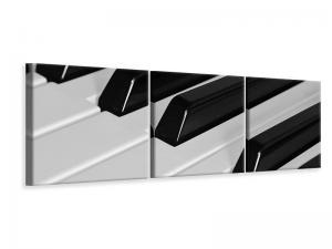 Ljuddämpande tavla - Piano keys xl - SilentSwede