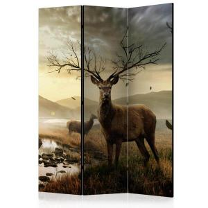 Rumsavdelare - Deers by mountain stream - SilentSwede