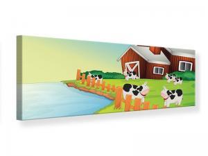 Ljudabsorberande panorama tavla - A Cow Makes Muh - SilentSwede