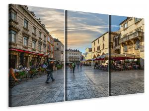 Ljuddämpande tavla - Shopping street - SilentSwede
