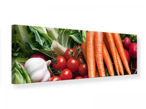 Ljudabsorberande panorama tavla - Vegetables - SilentSwede