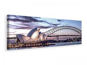 Ljuddämpande tavla - Skyline Sydney Opera House - SilentSwede