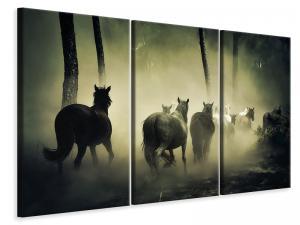 Ljuddämpande tavla - Horses in the forest - SilentSwede