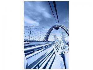 Ljudabsorberande tavla - modern Suspension Bridge - SilentSwede