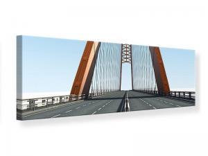 Ljudabsorberande panorama tavla - Bridge panorama - SilentSwede