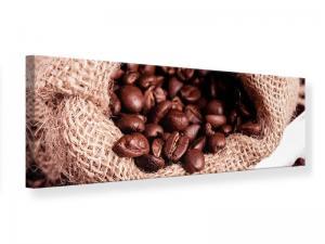 Ljudabsorberande panorama tavla - XXL Coffee Beans - SilentSwede