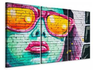Ljuddämpande tavla - Cool graffiti wall - SilentSwede