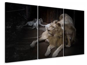 Ljuddämpande tavla - The lion couple - SilentSwede