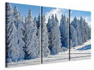 Ljuddämpande tavla - Beautiful winter landscape - SilentSwede