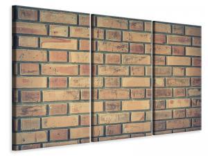 Ljuddämpande tavla - Brick wall - SilentSwede