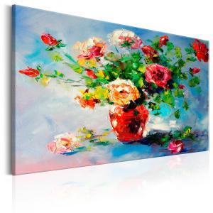 Ljuddämpande & ljudabsorberande tavla - Beautiful Roses - SilentSwede