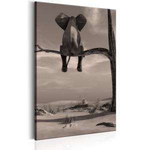 Ljuddämpande tavla - Elephant in the Desert - SilentSwede