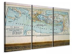 Ljuddämpande tavla - Antique map - SilentSwede
