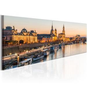 Ljuddämpande & ljudabsorberande tavla - Beautiful Dresden - SilentSwede