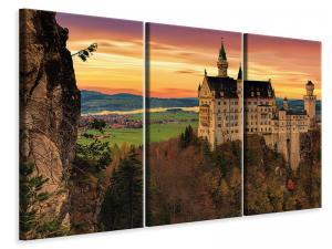 Ljuddämpande tavla - Impressive castle - SilentSwede