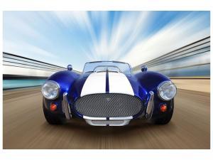 Ljudabsorberande tavla - Racing Car - SilentSwede