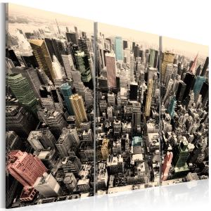 Ljuddämpande tavla - The tallest buildings in New York City - SilentSwede