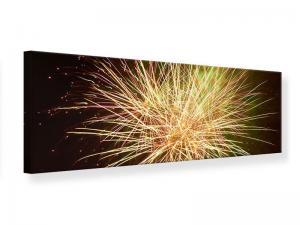 Ljudabsorberande tavla-Fireworks XXL - SilentSwede