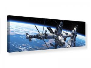 Ljudabsorberande panorama tavla - Satellite - SilentSwede
