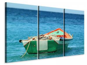 Ljuddämpande tavla - A fishing boat - SilentSwede