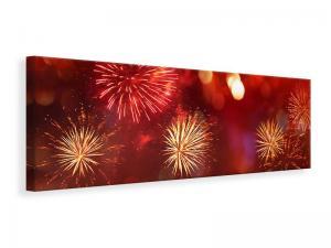 Ljuddämpande tavla - Colorful Fireworks - SilentSwede
