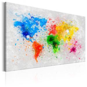 Ljuddämpande & ljudabsorberande tavla - Expressionism of the World - SilentSwede