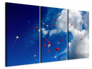 Ljuddämpande tavla - A sky full of hearts - SilentSwede