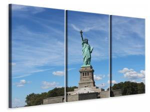 Ljuddämpande tavla - View of the statue of liberty - SilentSwede