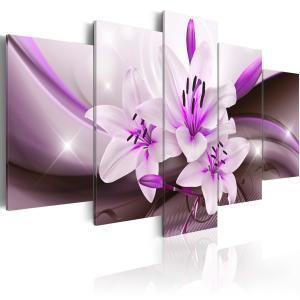 Ljuddämpande tavla - Violet Desert Lily - SilentSwede