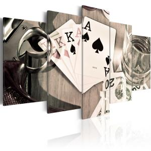 Ljuddämpande tavla - Poker night - SilentSwede