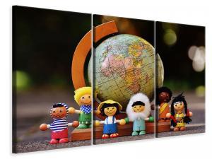 Ljuddämpande tavla - Kids world - SilentSwede