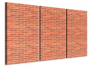 Ljuddämpande tavla - Bricks s - SilentSwede