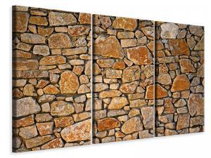 Ljuddämpande tavla - Nature stone wall - SilentSwede