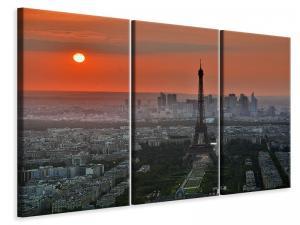 Ljuddämpande tavla - Paris in the evening light - SilentSwede