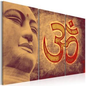 Ljuddämpande tavla - Buddha - symbol - SilentSwede