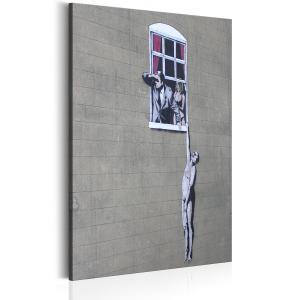 Ljuddämpande tavla - Well Hung Lover by Banksy - SilentSwede