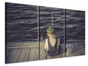 Ljuddämpande tavla - A little fisherman - SilentSwede