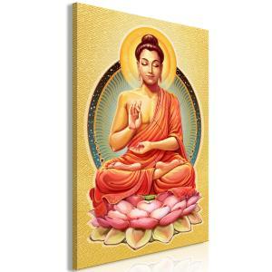 Ljuddämpande & ljudabsorberande tavla - Peace of Buddha - SilentSwede