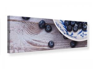 Ljudabsorberande panorama tavla - Blueberries - SilentSwede