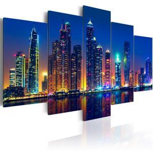 Ljuddämpande tavla - Nights in Dubai - SilentSwede