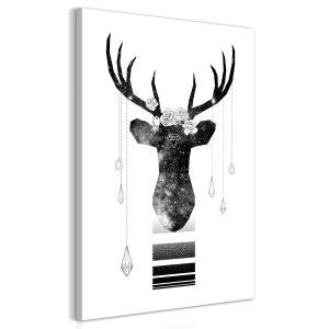 Ljuddämpande tavla - Abstract Antlers - SilentSwede