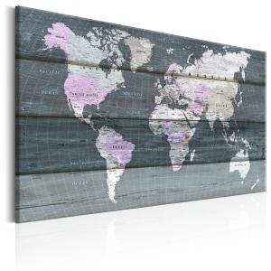 Ljuddämpande & ljudabsorberande tavla - Roam across the World - SilentSwede