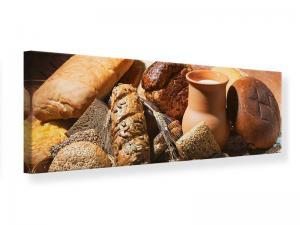 Ljudabsorberande panorama tavla - Breakfast Breads - SilentSwede