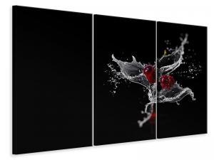 Ljuddämpande tavla - Sparkling cherries - SilentSwede