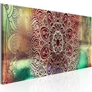 Ljuddämpande & ljudabsorberande tavla - Colourful Mandala - SilentSwede