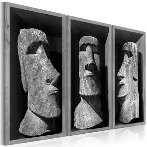 Ljuddämpande tavla - The Mystery of Easter Island - SilentSwede