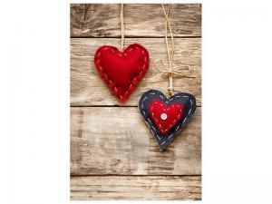 Ljudabsorberande tavla - Heart Romance - SilentSwede