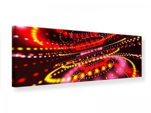 Ljudabsorberande panorama tavla - Abstract Light Game - SilentSwede