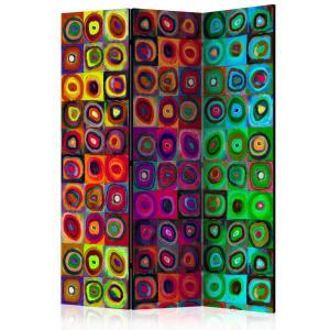 Rumsavdelare - Colorful Abstract Art - SilentSwede